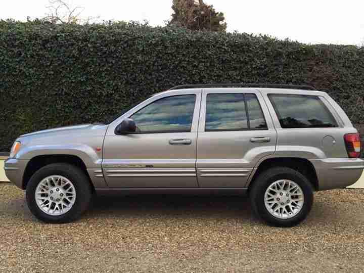 jeep 2002 grand cherokee 2 7 crd orvis ltd au silver p ex. Black Bedroom Furniture Sets. Home Design Ideas