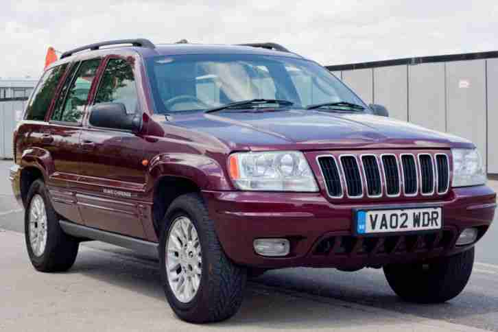 jeep 2002 grand cherokee limited 4 0 mot march 2016 car for sale. Black Bedroom Furniture Sets. Home Design Ideas
