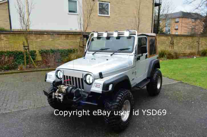 jeep  wrangler grizzly rubicon silver  manual  road rugged