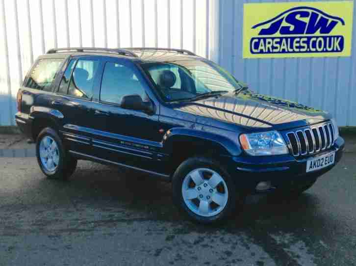 2002 Grand Cherokee 2.7 CRD Limited