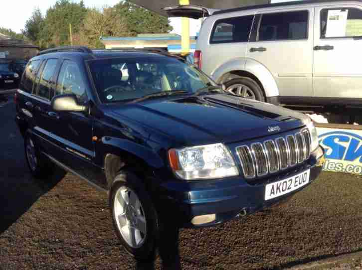 2002 Jeep Grand Cherokee 2.7 CRD Limited Station Wagon 5dr