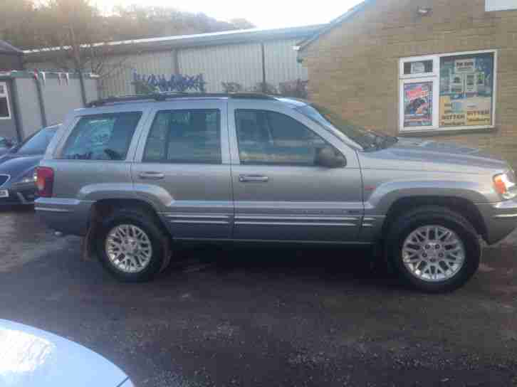 jeep 2002 grand cherokee 2 7 crd auto limited 4x4 diesel. Black Bedroom Furniture Sets. Home Design Ideas