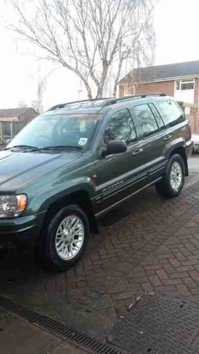 jeep 2002 grand cherokee crd limited 2 7 diesel auto car for sale. Black Bedroom Furniture Sets. Home Design Ideas