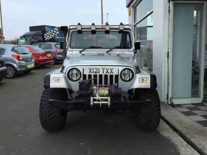 2002 Jeep Wrangler 4.0 Grizzly 3dr 4WD