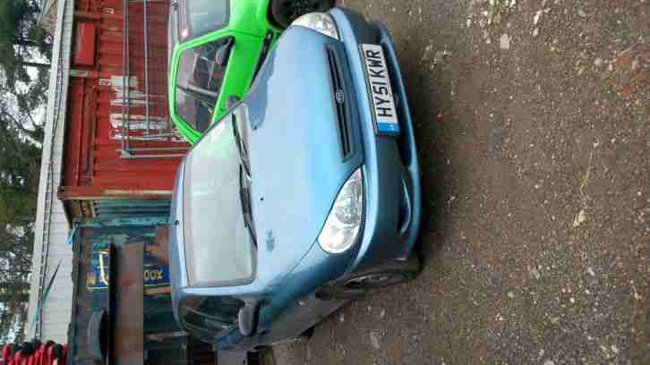 Kia 2002 Rio L Blue 1 3l Mot 15 05 15 Car For Sale