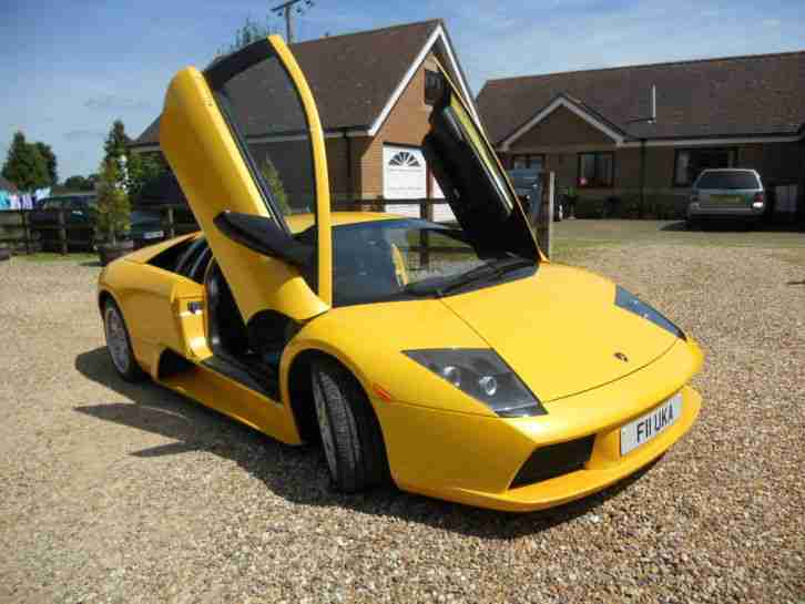 2002 LAMBORGHINI MURCIELAGO YELLOW MIGHT PX SWAP SWOP BENTLEY WHY