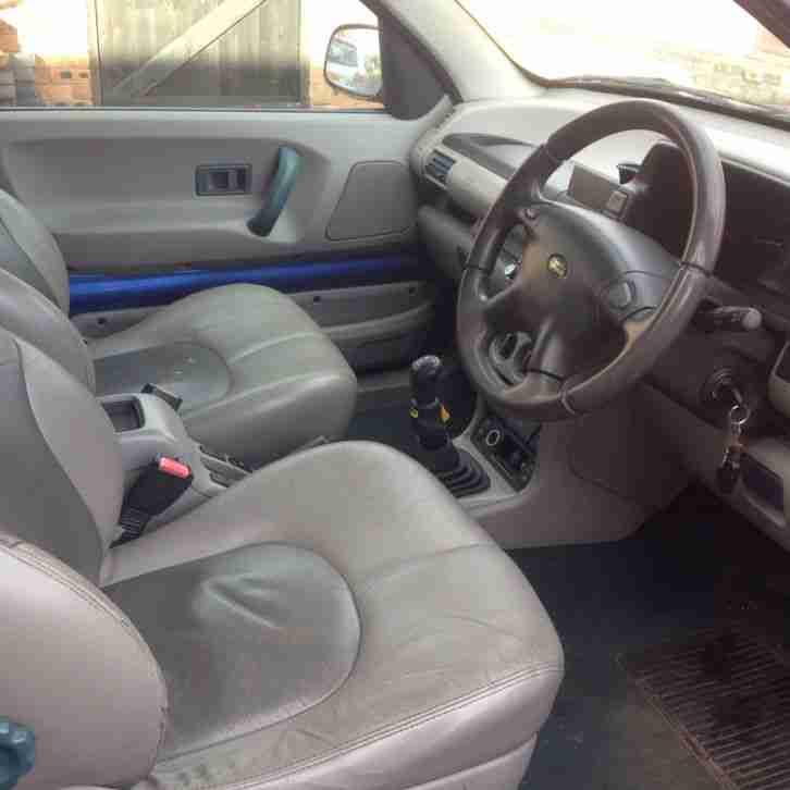 Land Rover Discovery 1 3 Door For Sale: 2002 LAND ROVER FREELANDER 1.8 ES 3 DOOR IN BLUE!. Car For