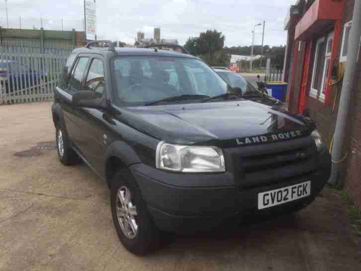 2002 LAND ROVER FREELANDER TD4 GS DIESEL ESTATE SPARES OR REPAIR FULL HISTORY