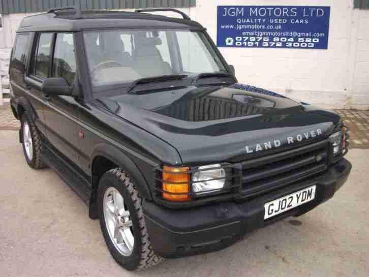 2002 land rover discovery 2 5 td5 es 5dr car for sale. Black Bedroom Furniture Sets. Home Design Ideas