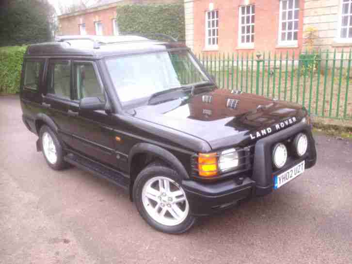 2002 Land Rover Discovery 2.5Td5 ( 7 st ) Td5 ES (7 seat) CREAM LEATHER,BLACK