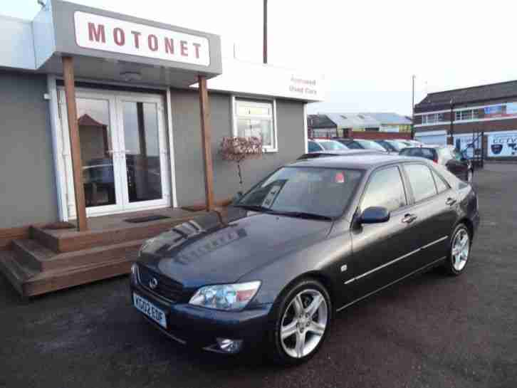 2002 Lexus IS 200 2.0 SE 4drJUST ARRIVEDHPI CLEAR 4 door Saloon