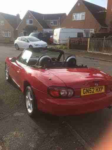 2002 MAZDA MX-5 ARIZONA LIMITED/SPECIAL EDITION RED 1.6