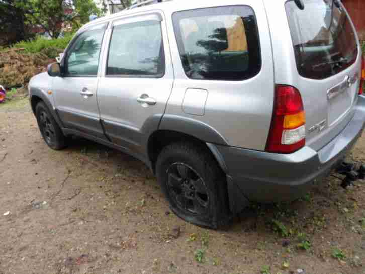 2002 MAZDA TRIBUTE 4X4 SPARES OR REPAIR RUNS AND DRIVES