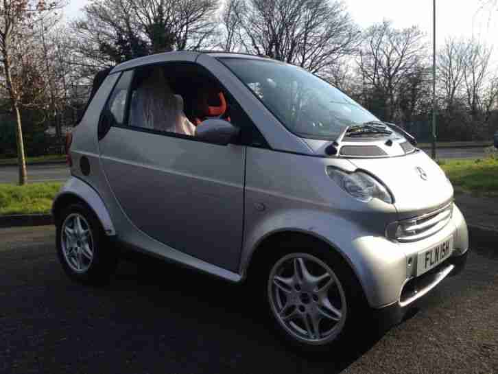 2002 MCC SMART PASSION SOFTOUCH(RH SILVER FSH 1 PREV OWNER 65K