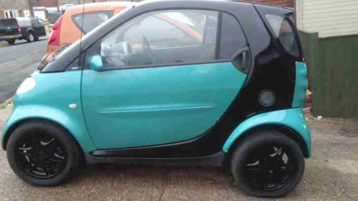 Smart MCC. Smart car from United Kingdom