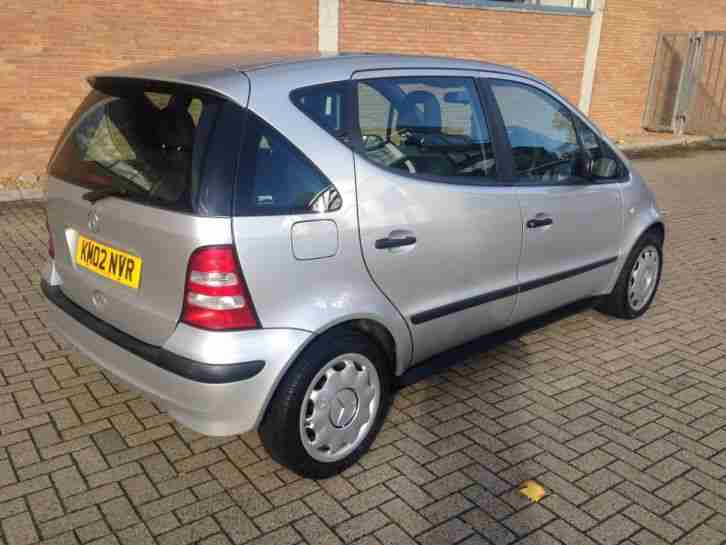 2002 mercedes a160 classic silver full mot can tax for new for Mercedes benz cheapest car
