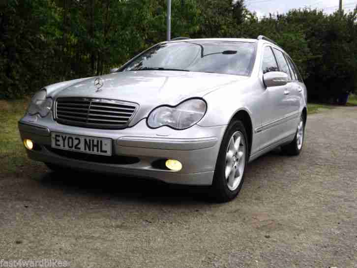 2002 mercedes c270 cdi diesel estate elegance auto silver car for sale. Black Bedroom Furniture Sets. Home Design Ideas