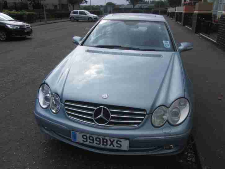 2002 MERCEDES CLK 240 AVANTGARDE AUTO BLUE may px swa