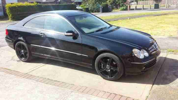 2002 mercedes clk 240 v6 elegance auto black facelift car for sale. Black Bedroom Furniture Sets. Home Design Ideas