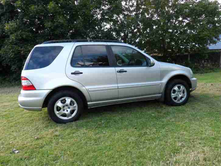 2002 mercedes ml 320 auto silver car for sale for Mercedes benz ml 320 2002