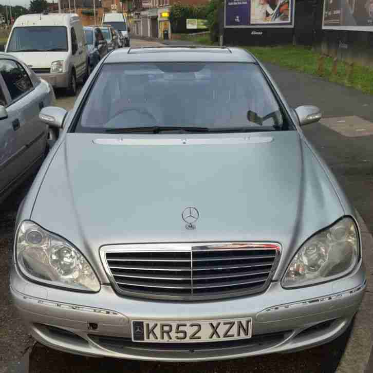 2002 mercedes s320 cdi auto silver car for sale for Mercedes benz s320 price