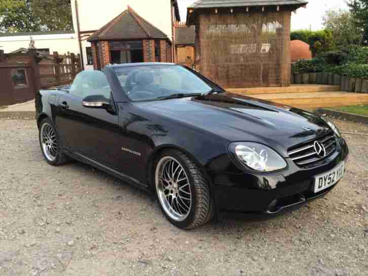 2002 mercedes slk 230 kompressor auto black great christmas gift car for sale. Black Bedroom Furniture Sets. Home Design Ideas