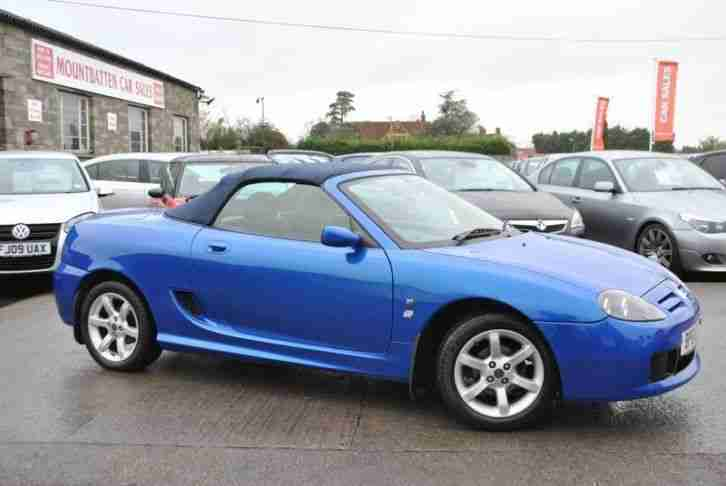 2002 MG TF 1.8 2 Door Convertible 120 STEPSPEED Blue Petrol Manual Cabriolet