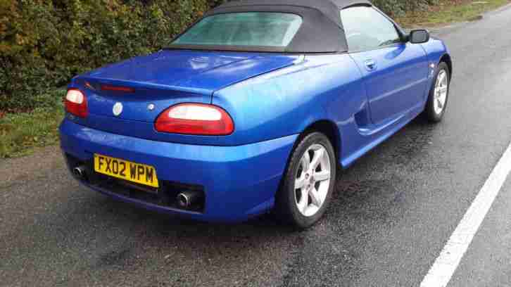 2002 MG TF 1.8 SPORTS CONVERTIBLE,MOT JULY 2017,VERY GOOD COND,WELL MAINTAINED