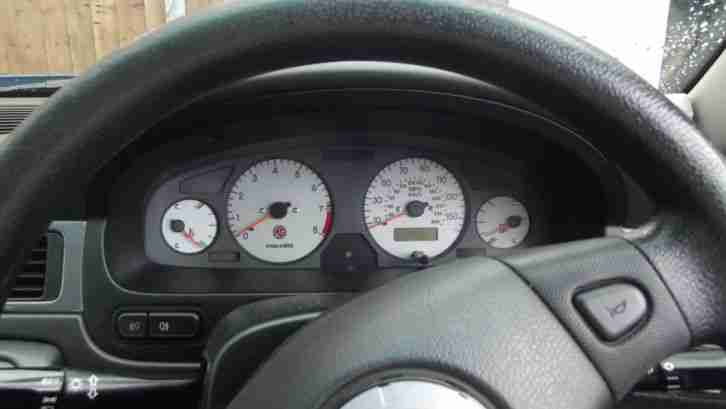 2002 MG ZS BLUE