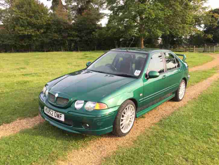 2002 ZS GREEN 2.5 v6 SPECIAL EDITION