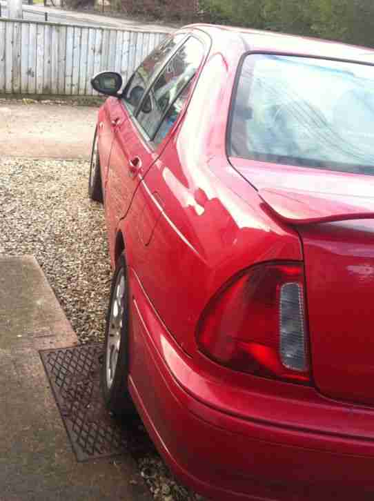 2002 MG ZS+ RED spares or repair