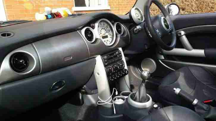 2002 MINI COOPER S GREY CHILLI PACK ..LOW MILEAGE