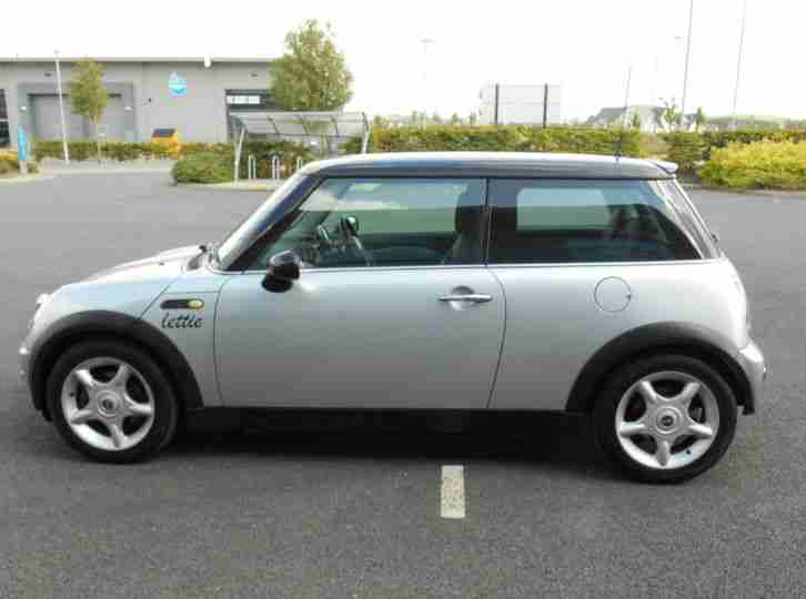mini 2002 cooper silver car for sale. Black Bedroom Furniture Sets. Home Design Ideas