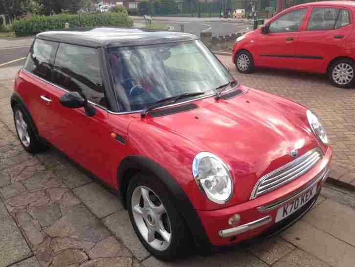 2002 COOPER RED