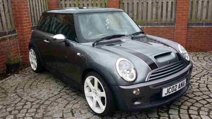 mini 2002 cooper s grey car for sale. Black Bedroom Furniture Sets. Home Design Ideas