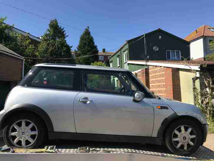 2002 MINI MINI ONE SILVER SPARES REPAIR CLUTCH GONE RE LIST DUE TO slibon_0