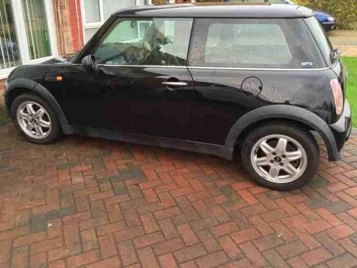 Mini 2002 One Black Cheapest On Ebay Cooper Car For Sale