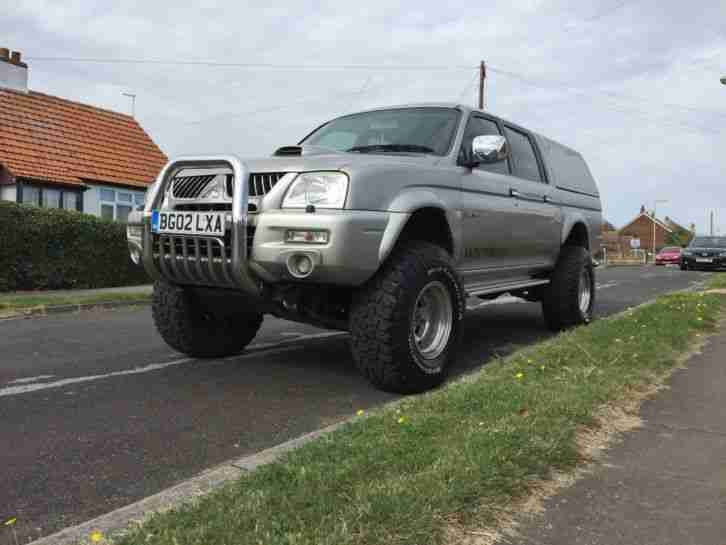 Mitsubishi 2002 L200 Warrior Monster Truck 2 5td 4x4 Off