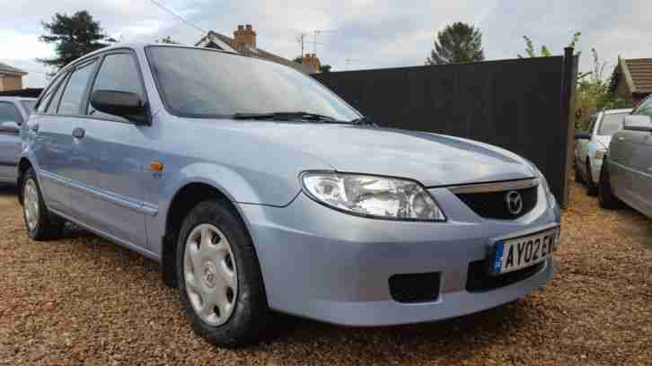 2002 Mazda 323F GXI Blue 1.6 Petrol Manual Hatchback Long MOT S H Warranty