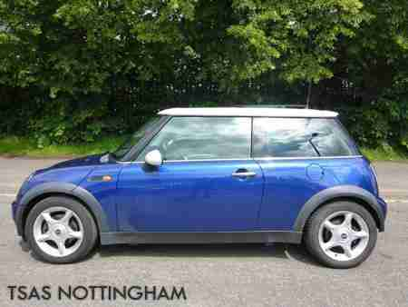 2002 Mini 1.6 Cooper Blue Damaged Salvage NOT RECORDED 100%