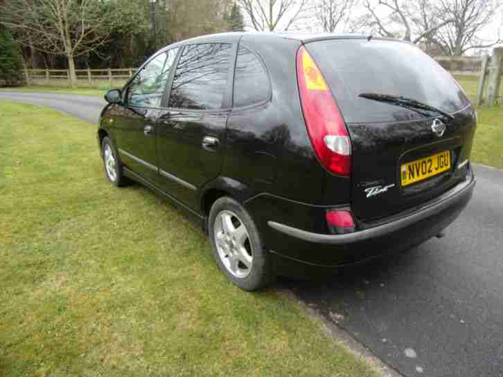 nissan 2002 almera tino hurricane turbo diesel 10 mths mot car for sale. Black Bedroom Furniture Sets. Home Design Ideas