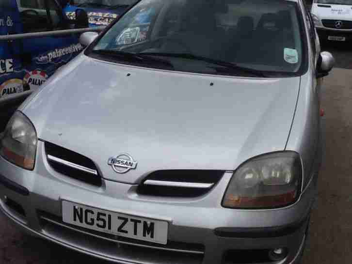 Nissan ALMERA. Nissan car from United Kingdom