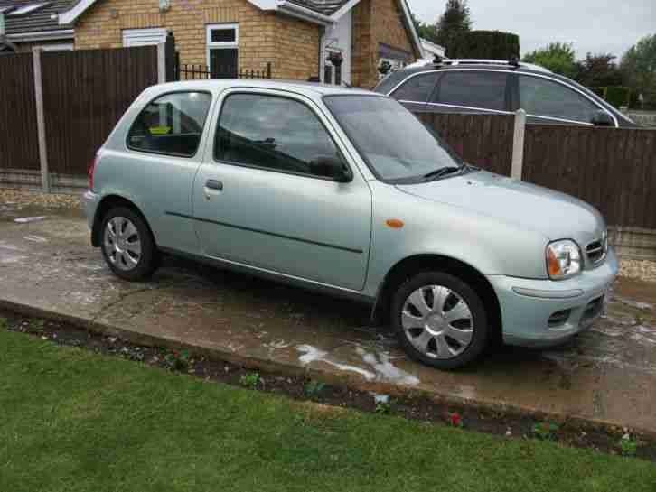 nissan 2002 micra vibe green car for sale. Black Bedroom Furniture Sets. Home Design Ideas