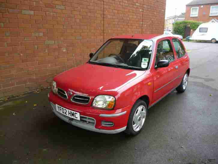 nissan 2002 micra vibe red car for sale. Black Bedroom Furniture Sets. Home Design Ideas