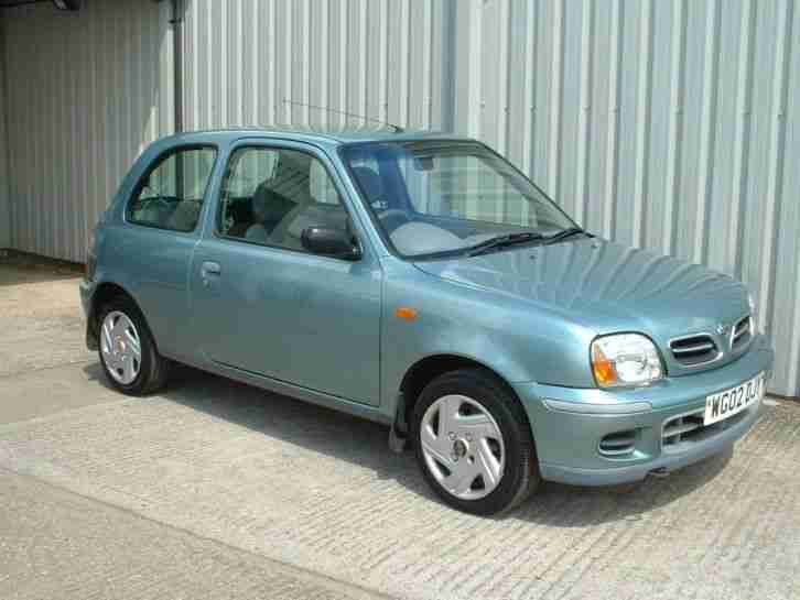 nissan 2002 micra s 1 0 998cc low mileage 3 door hatchback car for sale. Black Bedroom Furniture Sets. Home Design Ideas