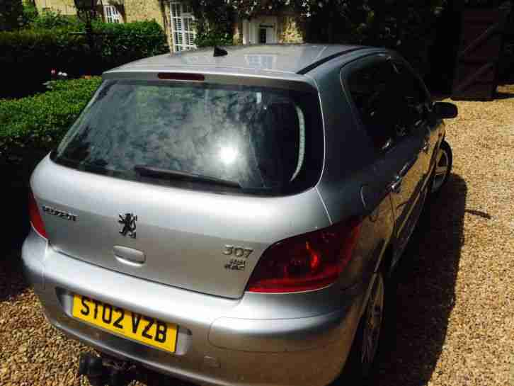 2002 PEUGEOT 307 D TURBO HDI SILVER
