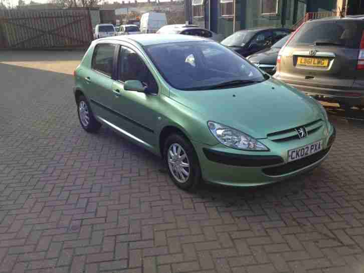 2002 307 GLX 16V GREEN LONG MOT P X