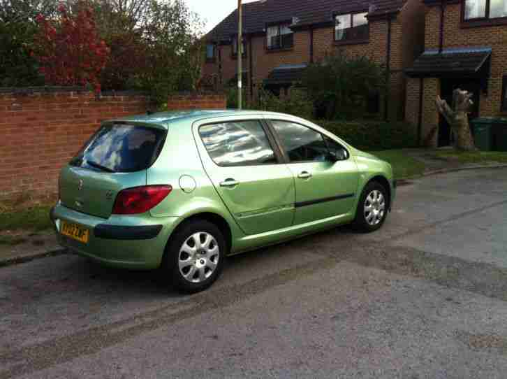 peugeot 2002 307 lx hdi green car for sale. Black Bedroom Furniture Sets. Home Design Ideas