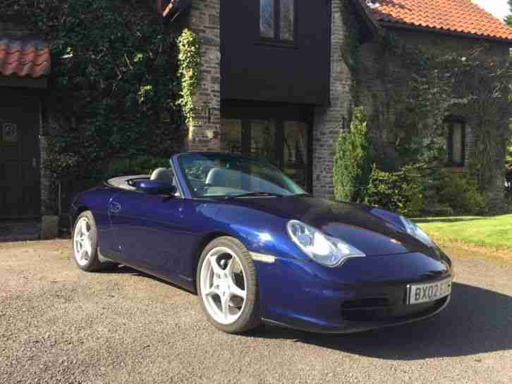 Porsche 2002 911 Carrera 4 Cabriolet 54k 2 Previous Owners