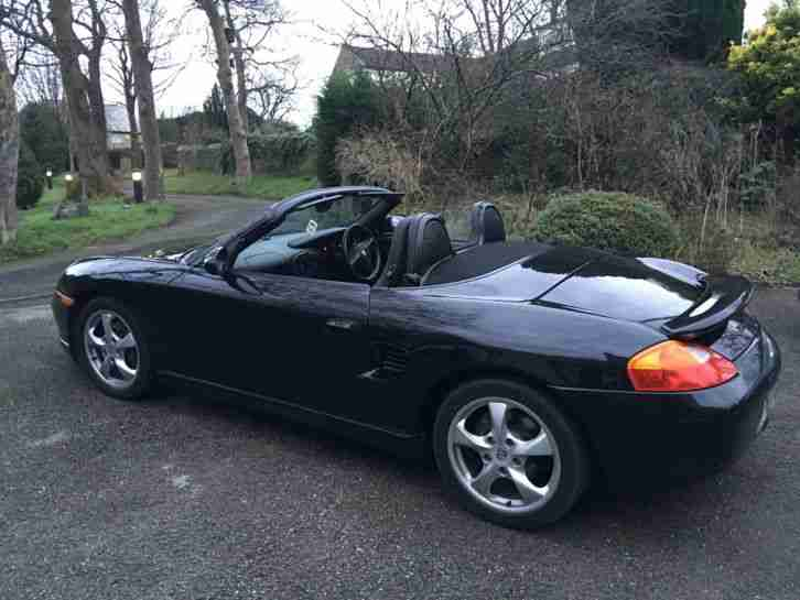 porsche 2002 boxster convertible 2 7 77 000 miles only with hard top. Black Bedroom Furniture Sets. Home Design Ideas